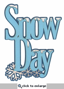 Digital Download: Snow Day Laser Die Cut