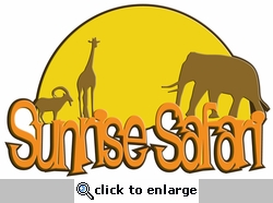 Digital Download: Sunrise Safari Laser Title Cut
