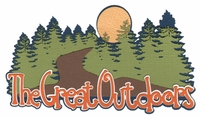 Digital Download: The Great Outdoors Laser Die Cut