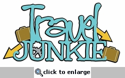 Digital Download: Travel Junkie Laser Die Cut
