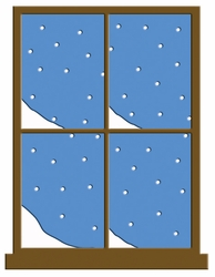 Digital Download: Winter Window Laser Die Cut