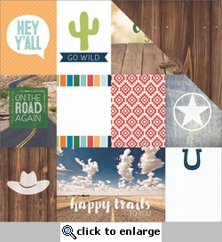 1SYT Discover USA: Country Song Tags 12 x 12 Double Sided Cardstock
