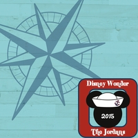 Disney Cruise Custom 12 x 12 Paper