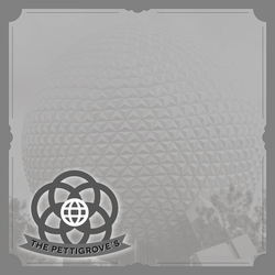 Disney Magic Moments: Epcot Custom 12 x 12 Paper