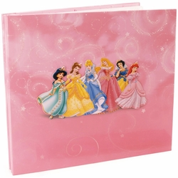 Disney Princess Glitter and Embossed Post Bound 12 x 12 Album