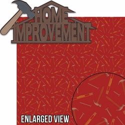 DIY: Home Improvement Laser 2 Piece Die Cut Kit