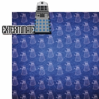 Doctor Who: Dalek 2 Piece Laser Die Cut Kit