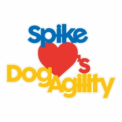 1SYT Dog Agility: Name Custom Laser Die Cut