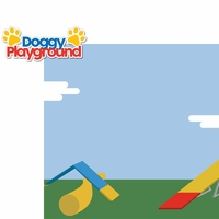 Dog Agility: Playground 2 Piece Laser Die Cut Kit