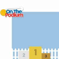 Dog Agility: Podium 2 Piece Laser Die Cut Kit