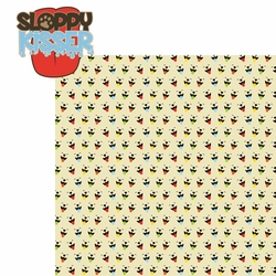 Doggie Luv: Sloppy Kisser 2 Piece Laser Die Cut Kit