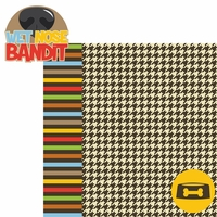 Doggie Luv: Wet Nose Bandit 2 Piece Laser Die Cut Kit