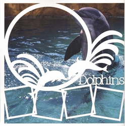 1SYT Dolphins 12 x 12 Overlay Quick Page Laser Die Cut