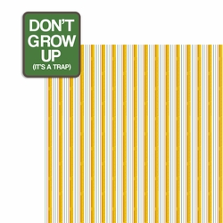 Don't Grow 2 Piece Laser Die Cut Kit