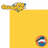 Donald: Quack Me Up 2 Piece Laser Die Cut Kit