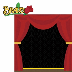 Drama: Bravo 2 Piece Laser Die Cut Kit
