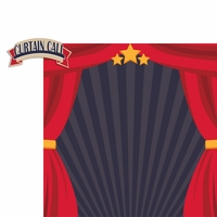 Drama Days: Curtain Call 2 Piece Laser Die Cut Kit