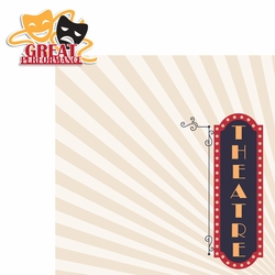 Drama Days: Great Performance 2 Piece Laser Die Cut Kit