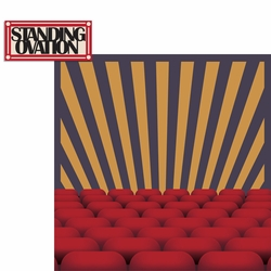 Drama Days: Standing Ovation 2 Piece Laser Die Cut Kit
