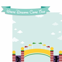 Dreams Come True 2 Piece Laser Die Cut Kit