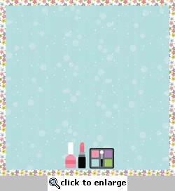Dress Up: All Girly 12 x 12 Paper