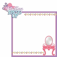 Dress Up: Let's Play 2 Piece Laser Die Cut Kit