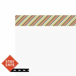 Driving: Stay Safe 2 Piece Laser Die Cut Kit