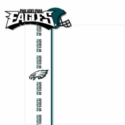 Eagles: Go Eagles 2 Piece Laser Die Cut Kit