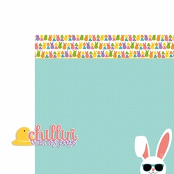Easter: Chillin' with my peeps 2 Piece Laser Die Cut Kit