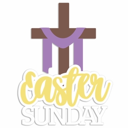 Easter: Easter Sunday Laser Die Cut