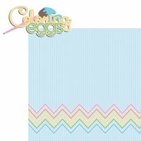Easter Fun:Coloring Eggs 2 Piece Laser Die Cut Kit