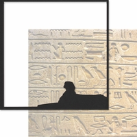 Egypt: The Sphinx 12 x 12 Overlay Quick Page Laser Die Cut