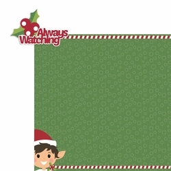 Elf: Always watching 2 Piece Laser Die Cut Kit