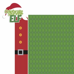 Elf: Celebrate your inner elf 2 Piece Laser Die Cut Kit