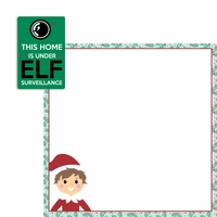 Elf on a Shelf: Elf Surveillance 2 Piece Laser Die Cut Kit