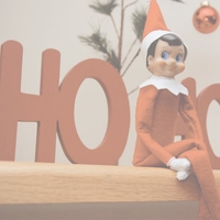 Elf On A Shelf: Ho Ho Ho 12 x 12 Paper