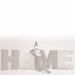 1SYT Elf On A Shelf: Home 12 x 12 Paper