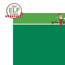 Elf on a Shelf: Our Elf 2 Piece Laser Die Cut Kit