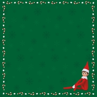 Elf on The Shelf: Elf On The Shelf 12 x 12 Paper