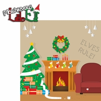 Elf on The Shelf: Mischievous Little Elf 2 Piece Laser Die Cut Kit