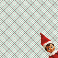 Elf on The Shelf: What's The Elf Up To? 12 x 12 Paper