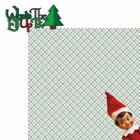 Elf on The Shelf: What's The Elf Up To? 2 Piece Laser Die Cut Kit