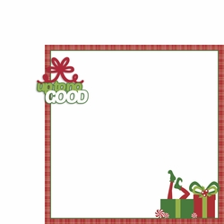 Elf: Up to no good 2 Piece Laser Die Cut Kit