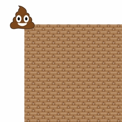 Emojinal: Poop Happens 2 Piece Laser Die Cut Kit