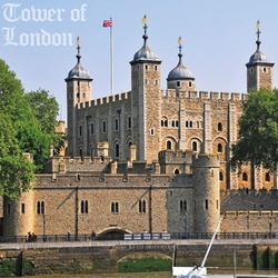 England: Tower Of London 12 x 12 Paper
