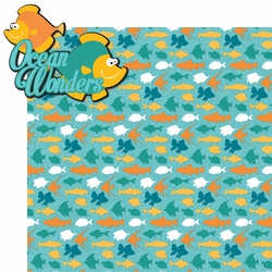 Explore The Deep: Ocean Wonders 2 Piece Laser Die Cut Kit