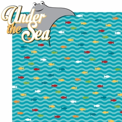 Explore The Deep: Under The Sea 2 Piece Laser Die Cut Kit