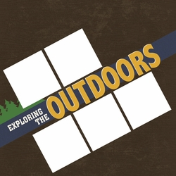 Explore the Outdoors 12 x 12 Paper