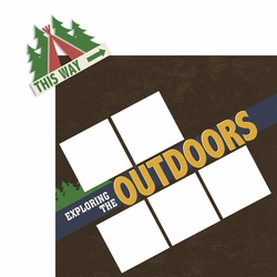 Explore the Outdoors 2 Piece Laser Die Cut Kit