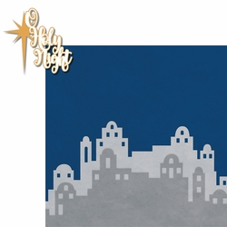 Faith: O Holy Night 2 Piece Laser Die Cut Kit
